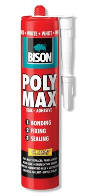 Tmel Bison Poly Max White • 425 g